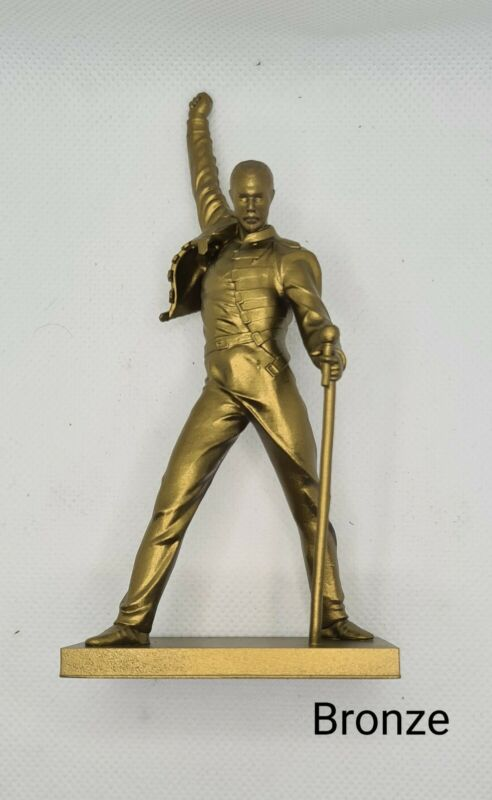Freddie Mercury Statue - 3D Printed Montreux Replica