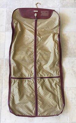 Vintage Samsonite Silhouette II 2 Hanging Garment Suits Soft Bag Clothes Dress