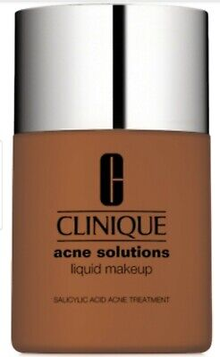 Clinique Acne Solutions Liquid Makeup w/Salicylic Acid 08 Fresh Amber NIB