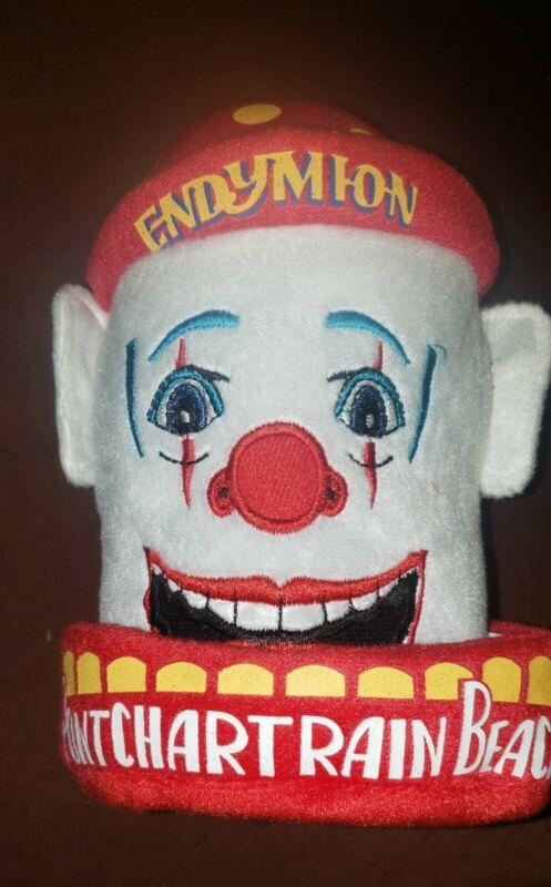 2013 ENDYMION Mardi Gras Parade Pontchartrain Beach Plush Clown Head