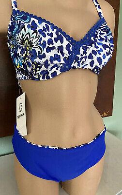 SPORTALM Bikini Wendefunktion Blau Gr 44 42 NEU LP189