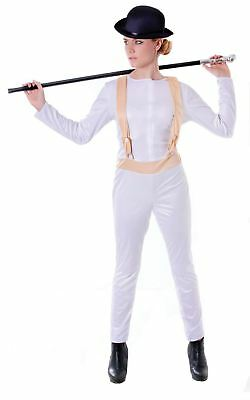 nge One Size Jumpsuit Prisoner Fancy Dress Costume (Womens Orange Jumpsuit Kostüm)