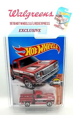 Hot Wheels Lil Red Express Walgreen Exclusive Dodge Truck New