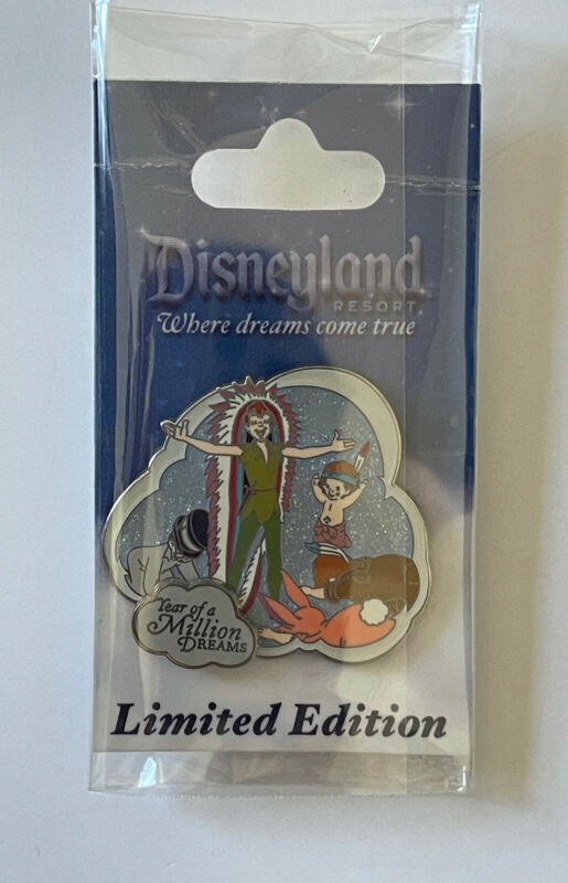 Disney DLR LE 1000 Year of a Million Dreams 2008 Collection - Peter Pan Pin