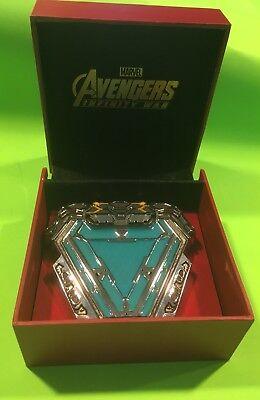 Avengers Endgame - Iron Man Glow In The Dark Arc Reactor Wearable Replica (Iron Man Costume)
