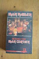 IRON MAIDEN Behind the Iron Curtain VHS, Heavy Metal Nordrhein-Westfalen - Ostbevern Vorschau