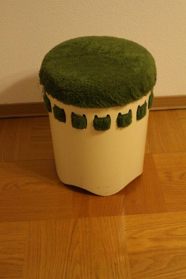 Schmutzwäschebehälter  50iger Jahre - Stoff leicht auszuwechseln! in Niedersachsen - Springe
