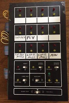 Mirtone 7800 Fire Alarm Control Panel Display Board 25280665-2