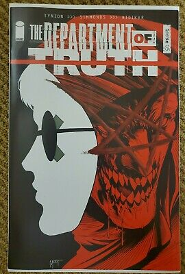 DEPARTMENT OF TRUTH 5 EXCLUSIVE MARAT MYCHAELS VARIANT NM ONLY 600
