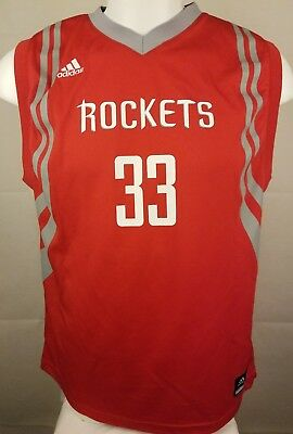 14cd9f60f Adidas Houston Rockets Jersey Size X Large Brewer