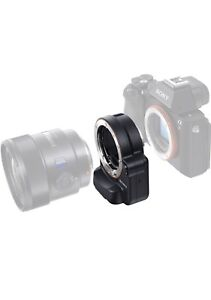 Sony A-Mount to E-Mount Lens Adapter with Translucent Mirror