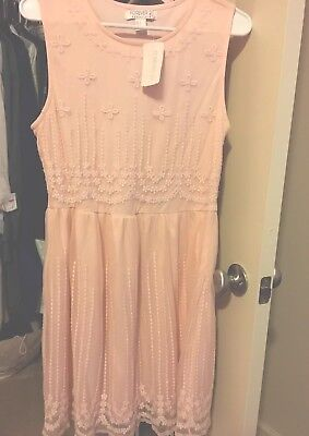 Exclusive Sleeveless Dress - Forever 21 Exclusive Limited Edition Peach Sleeveless Short Dress-NWT-size Large