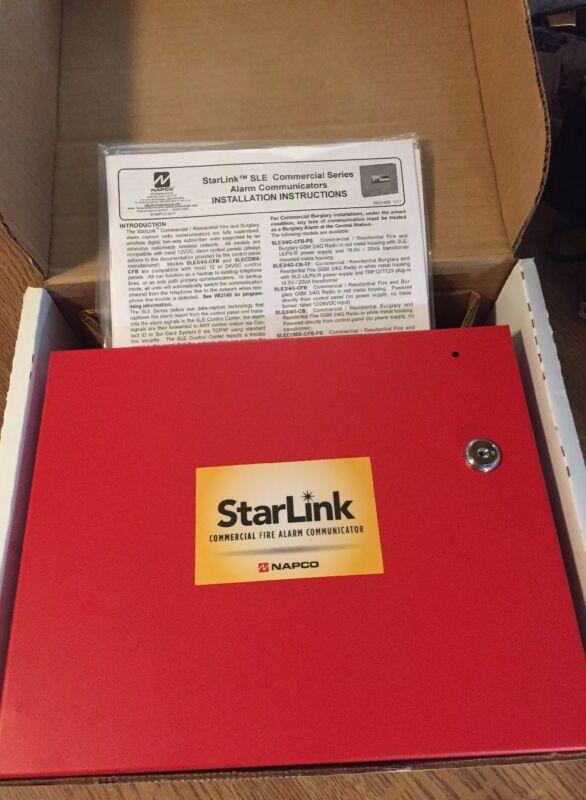 NAPCO StarLink SLECDMA-CFB Commercial Fire & Burglary, CDMA Radio red enclosure