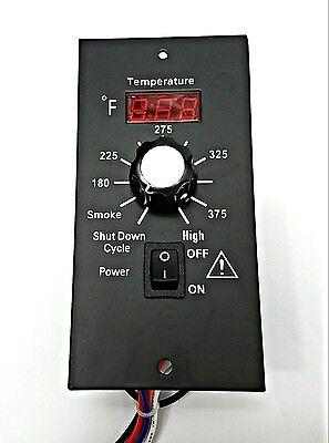 DIGITAL THERMOSTAT CONTROLLER FOR PELLET GRILLS TRAEGER & OTHERS