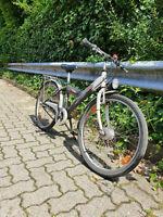 Kinder- & Jugendfahrrad, Reifengröße 24 Zoll, schwarz-rot-weiß Herzogtum Lauenburg - Wentorf Vorschau