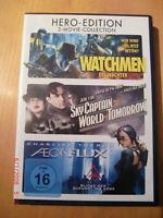 DVD - 3er BOX - Watchmen-Sky captain-AEONFLUX- TOP gebr. Bayern - Sulzdorf Vorschau