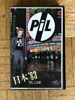 PIL Video-Kassette / Punk / 1983 LIVE Stuttgart - Stuttgart-Mitte Vorschau