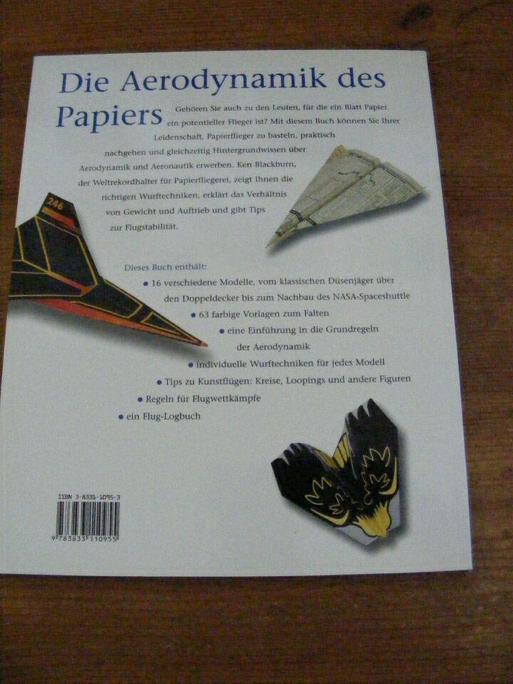 Papierflugzeuge von Blackburn, Ken, Lammers, Jeff - Neues Buch in Frankfurt (Main) - Innenstadt