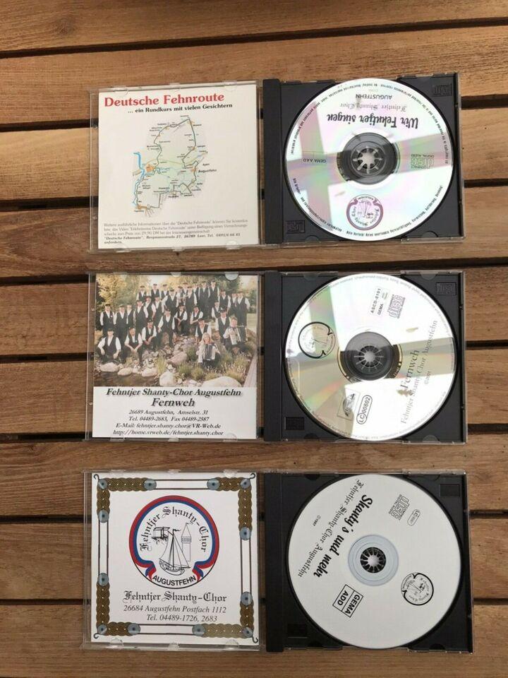 Fehntjer Shantychor Augustfehn   3 CD`s für zusammen 6Euro in Apen