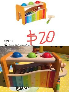 Hape Pound and Tape Bench