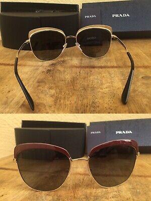 89db7af11e BRAND NEW Prada 56mm Square Catwalk Sunglasses Metal Frame Was  380