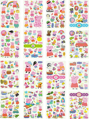 Peppa Pig Tattoo (Temporary Tattoos for Kids, 200 Designs, 16 Sheets, 4.8x3.4 inches (Peppa)
