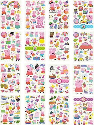 Temporary Tattoos for Kids, 200 Designs, 16 Sheets, 4.8x3.4 inches (Peppa Pig) - Tattoos For Children