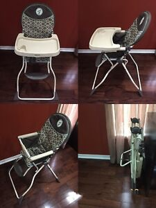 Baby items: high chair & rocker