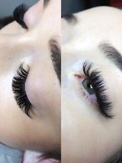 Eyelash extensions Clayton