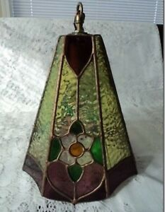 Stained Glass hanging shades