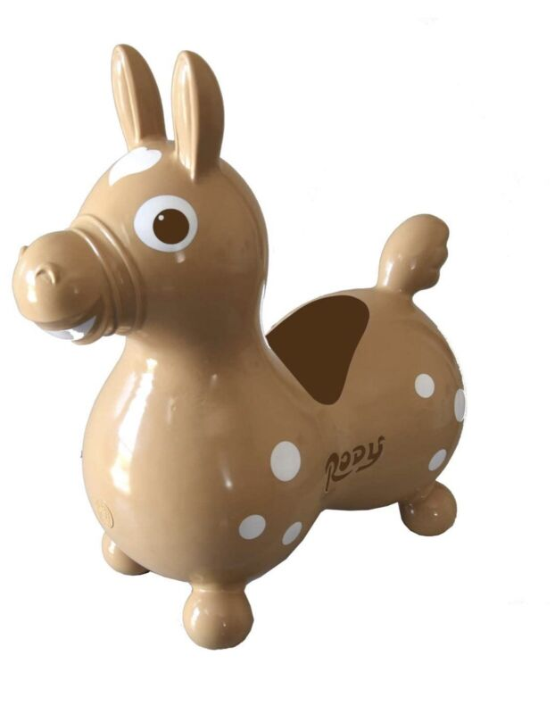 GYMNIC Rody Horse Ride on, for Kids light brown