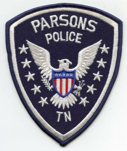 PARSONS TENNESSEE TN POLICE PATCH