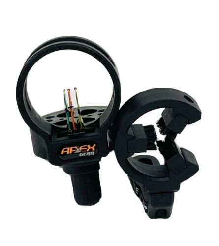 APEX 3 Pin Fiber Optic Compound Bow Sight With Hostage Arrow