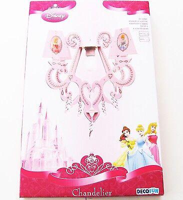 Kreativset Kronleuchter Disney Princess NEU OVP Decofun rosa pink Hänge Lampe
