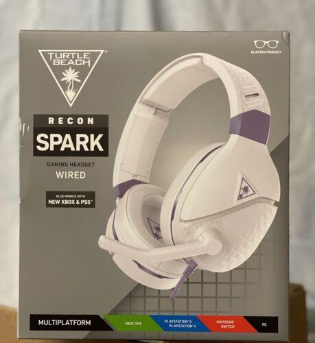 Turtle Beach Recon Spark Multiplatform Wired Gaming Headset -White/Purple SEALED - $30.00