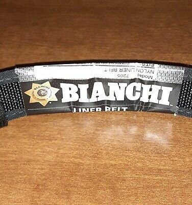 Bianchi 17707 Black Nylon 7205 Accumold Competion Belt Inner Liner -sml 28- 34
