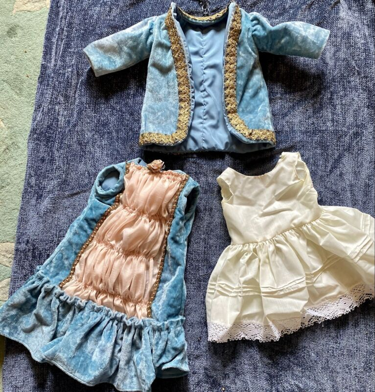 Vintage Fancy Outfit For Bisque Or Vintage Doll