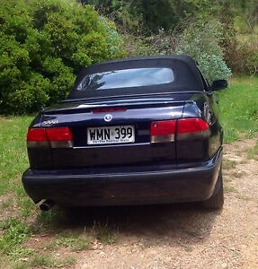 Saab convertible 9-3 Aero 2000 Aldgate Adelaide Hills Preview