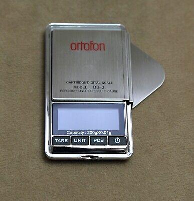 Ortofon DS-3 Digitale Tonarmwaage , High-End-Qualität, extrem präzise