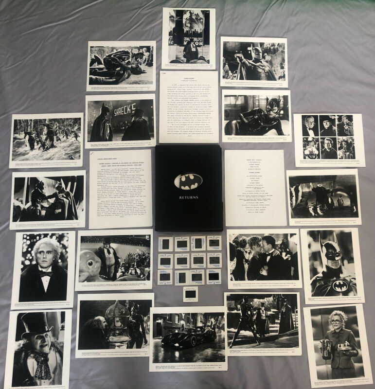 Batman Returns 1992 - MOVIE PRESS KIT