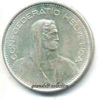 Svizzera 5 Franchi 1967 Moneta Argento Confoederatio Helvetica -  - ebay.it
