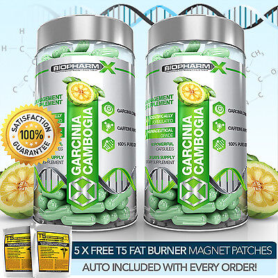 X2 STRONGEST LEGAL GARCINIA CAMBOGIA - SLIMMING / DIET & FAT BURNER WEIGHT PILLS