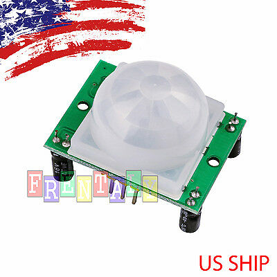 Hc-sr501 Pir Ir Passive Infrared Motion Detector Sensor Module For Arduino Diy