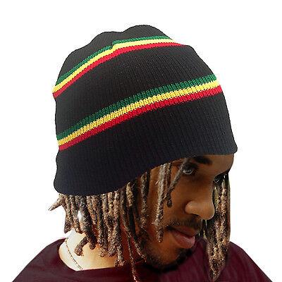 Root Rastafari Tam Beanie Rasta Dancehall Africa Jamaica Lion Reggae Marley S/M  Rasta Tam