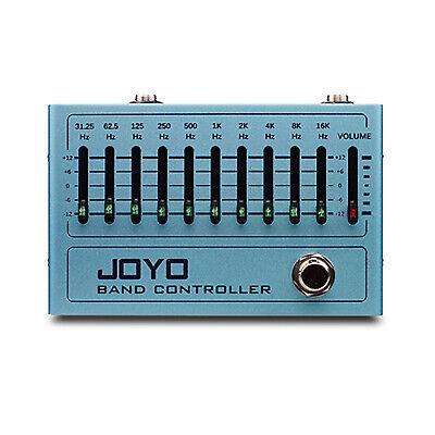 JOYO 10 Band Graphic Equaliser R-12 EQ Band Controller Guitar Effect Pedal