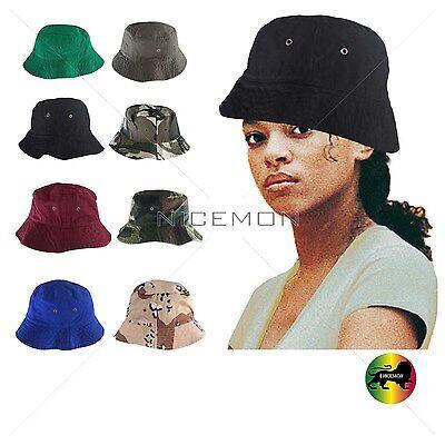 Weiche Eimer Hut (Unisex Eimer Hut Cap100 % Baumwolltwill Kappe Weich Bequem 1SZ Passform)