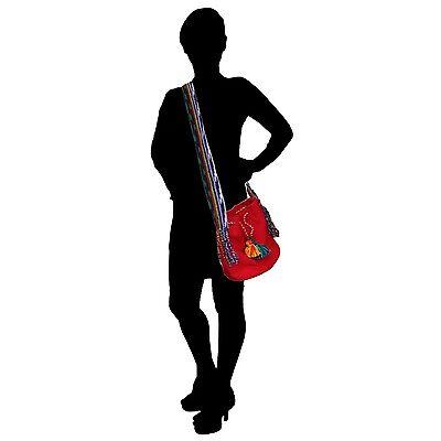 Handmade Süß Teen Schultertasche für Mädchen Lang Riemen Handtasche Kuriertasche