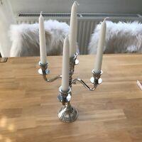 Kerzenständer silberfarben 5-flammig Nordrhein-Westfalen - Espelkamp Vorschau