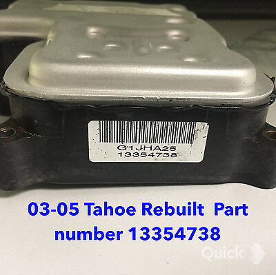 ( 03-05  TAHOE ABS, Anti skid module   Non Traction Control. REBUILT Computer )