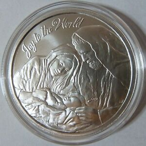 2014 Silver Shield Collection Joy To The World 1oz 999